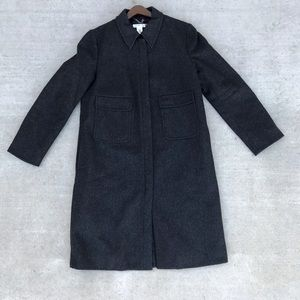 J. Crew Jackets & Coats - J Crew Wool Insulated Long Coat